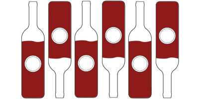 6 x Vino Tinto DO Valencia<br>(botella de 75cl)