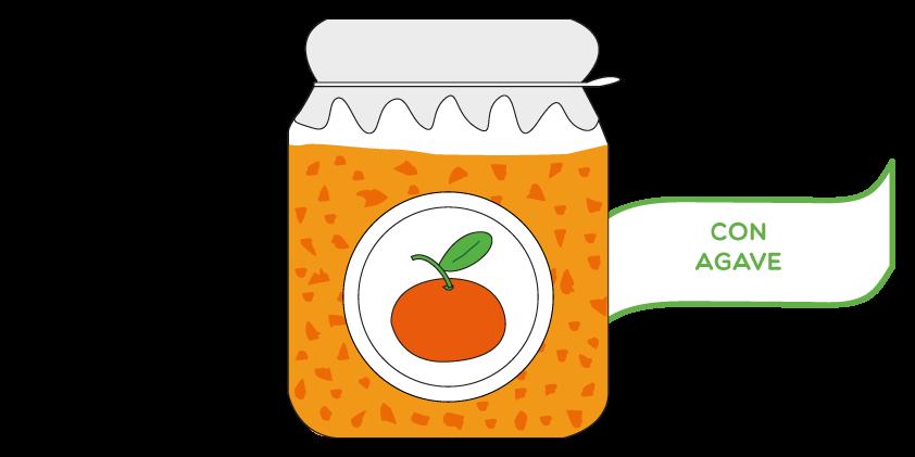 Mermelada de clementina<br>con agave (420gr)