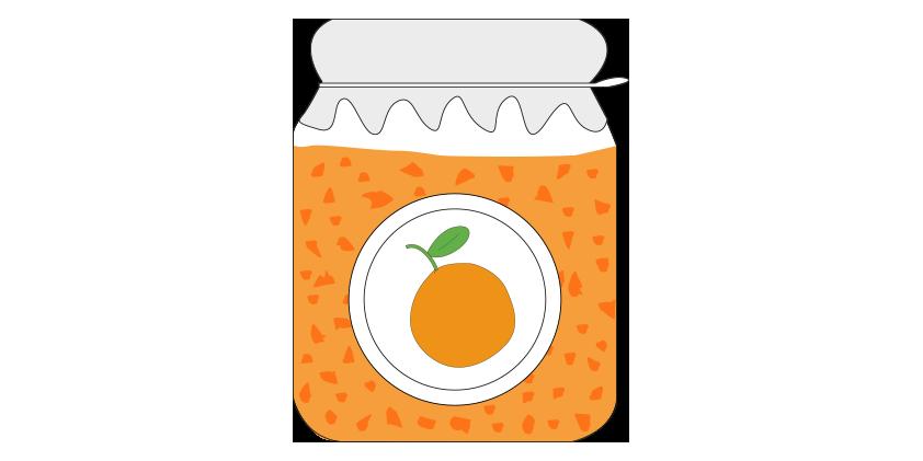 Mermelada de naranja<br>(420gr)